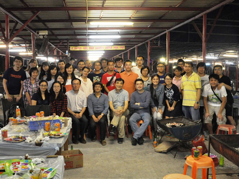 Research Postgraduate Students Barbeque Gathering