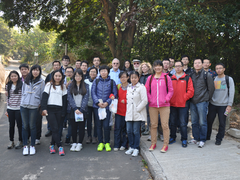 Research Postgraduate Students Hiking at Dragon\'s Back